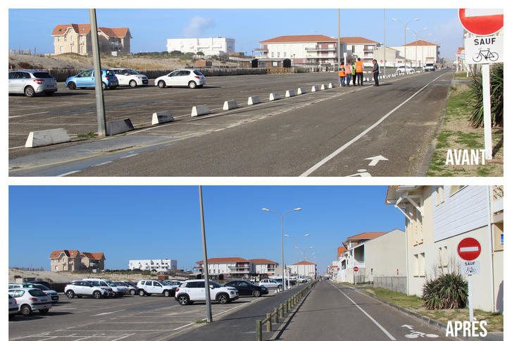 Piste cyclable (Biscarrosse Plage)